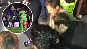 Petr Cech Watched Chelsea's Penalty Shoot Out From Fan's Phone Last Night