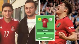Man Utd's Daniel James Left On Fantasy Football Subs Bench By His Own Brother