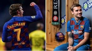 Barcelona Complete Signing Of Antoine Griezmann For £108 Million
