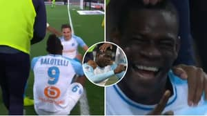 Mario Balotelli Scores Winner Against Nice, Produces Rock, Paper, Scissors Celebration