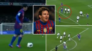 Incredible Video Shows 'The Other Side' Of Lionel Messi's Record-Breaking 91 Goal Year In 2012