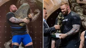 'The Mountain' Hafthor Bjornsson Drops Hint At Change Of Sport