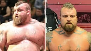 Eddie Hall Shows Off Remarkable 36kg Weight Loss Ahead Of Boxing Match With 'The Mountain'