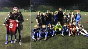 Juan Mata Produces Heartwarming Gesture To Young Manchester United Fan