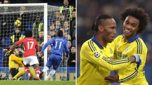Didier Drogba Takes Aim At Arsenal After Willian Exit