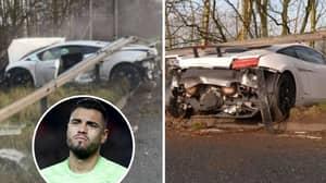 Sergio Romero Crashes £170,000 Lamborghini On The Way To Manchester United Training