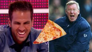 14 Years Ago, Sir Alex Ferguson Was Slapped Around The Face With A Slice Of Pizza