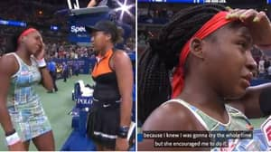 Naomi Osaka Invites Coco Gauff To Do Post Match Interview And Pays Respects To Her Team