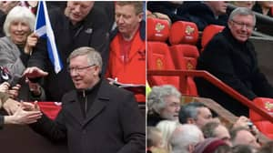 What Sir Alex Ferguson Did For Man Utd's Oldest Season Ticket Holder On A Weekly Basis Sums Up The Man