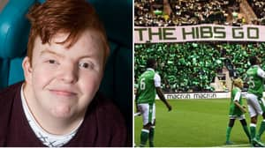 Hibs Fan's First Words After Being Unable To Speak For Three Months Were: 'Hearts Are Sh**e'