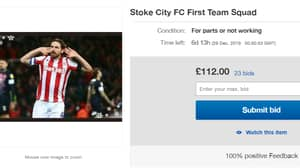 Stoke City Fan Puts First Team Squad Up For Sale On eBay