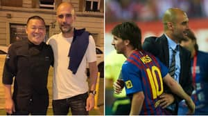 Manchester City Manager Pep Guardiola Flies To Barcelona For Lionel Messi Talks
