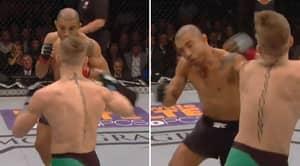 UFC Release New Angle Of Conor McGregor's Devastating 13 Second Knockout Of Jose Aldo