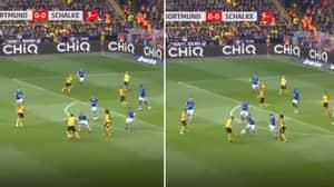 Borussia Dortmund's Jadon Sancho Produces The Filthiest Assist Of The Season