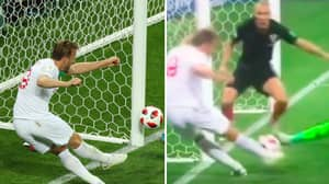 New Footage Emerges Of Harry Kane's Golden Chance Against Croatia