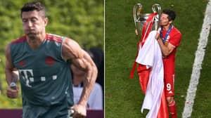 Bayern Munich Striker Robert Lewandowski Wants To Play Until He's 40