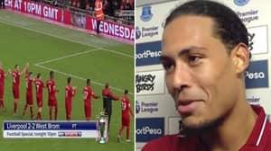 "Virgil van Dijk: ""It Says A Lot That Everton Are Celebrating A 0-0"""