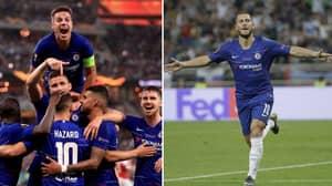 Chelsea Thrash Arsenal 4-1 To Win Europa League
