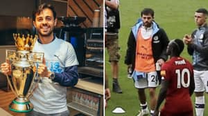 Manchester City Fans Think Bernardo Silva Trolled Liverpool With Title-Winning Picture