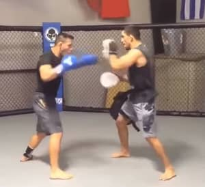 WATCH: Rafael Dos Anjos Looks In Lethal Form Heading Into McGregor Fight
