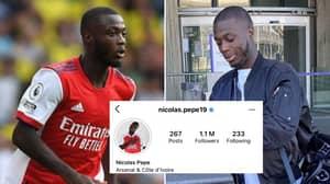 Nicolas Pepe Immediately Deletes Arsenal Relegation Joke On Instagram, Fans Are Furious