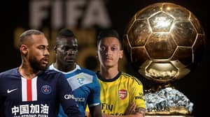 The Next 10 Winners Of The Ballon d'Or Were Predicted Back in 2012