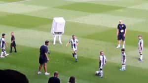 West Bromwich Albion's New Boiler Mascot Went Down A Storm