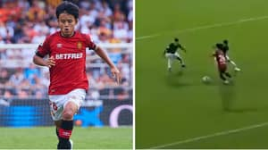 Takefusa Kubo Given Man Of The Match After Brilliant 27 Minutes for Mallorca