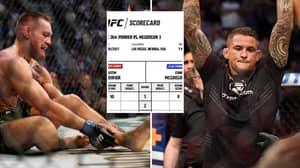 Conor McGregor Vs Dustin Poirier Scorecards Revealed For UFC 264 Main Event