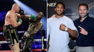 Eddie Hearn Says Tyson Fury Vs Anthony Joshua Will Happen This Year