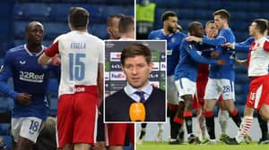 Steven Gerrard Calls Racial Abuse Of Glen Kamara 'Sickening' And 'Horrible