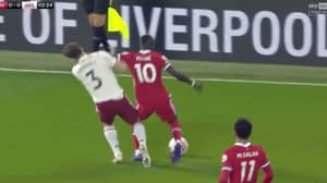 Sadio Mane Lucky Not To Be Sent Off After Two Minutes