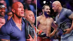 Dwayne 'The Rock' Johnson Reveals Advice He Gave To Jorge Masvidal After Winning The BMF Title