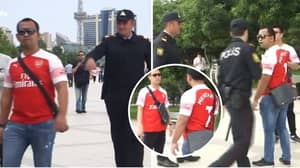Arsenal Fans Stopped By Police In Baku For Wearing Henrikh Mkhitaryan Shirt