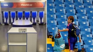 Japan Players Cleaned Up Their Changing Room After World Cup Elimination
