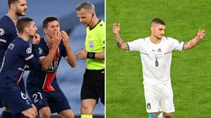 Italy Midfielder Marco Verratti Accused Euro 2020 Final Ref Of Saying 'F**K You' To Him