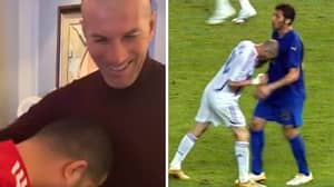 Almeria Owner Hilariously Gives Zinedine Zidane The 'Materazzi Headbutt'