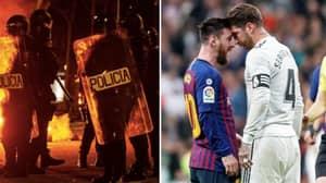 Next Weekend's 'El Clasico' Between Barcelona And Real Madrid Has Been Postponed