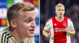 Donny Van De Beek Reveals Transfer Agreement With Other Club Before Manchester United Signing