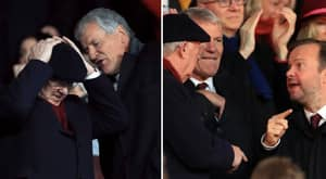 Sir Alex Ferguson Pictured Allegedly Arguing With Manchester United's Ed Woodward