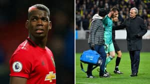 Paul Pogba And David De Gea Ruled Out Of Sunday's Game Against Liverpool