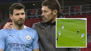 """Sergio Aguero Left The Pitch Complaining After Champions League Win: """"They Don't Pass Me The Ball"""""""
