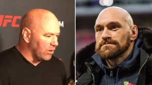 Dana White Reacts To Tyson Fury Attempting To Pursue A UFC Career