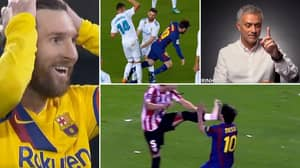 Incredible Video Of 'How To Stop Lionel Messi' Silences His Haters, He Ruins Every Elite Team's Plan