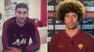Roma Have Typically Brilliant Response To Marouane Fellaini's Hair