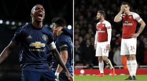 Manchester United Have Knocked Arsenal Out Of The FA Cup