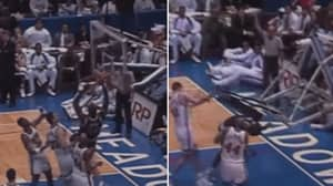 A 21-Year-Old Shaquille O'Neal Breaking The Backboard Is Just Insane