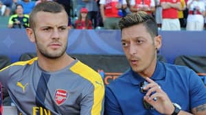 """Mesut Ozil Pays Tribute To """"True Gunner"""" Jack Wilshere Following Arsenal Exit"""