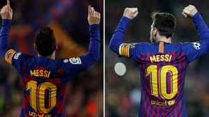 Lionel Messi Has Produced 100 10/10 Performances Since In The Last Ten Seasons