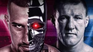 Paul Gallen Threatens To Cancel Boxing Bout Against Justis Huni Over Terminator-Themed Promo Poster